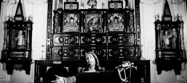 As 100 Sacras: Dia 24 - Capela das Relíquias na igreja de Nossa Senhora do Pilar de Buenos Aires, Argentina