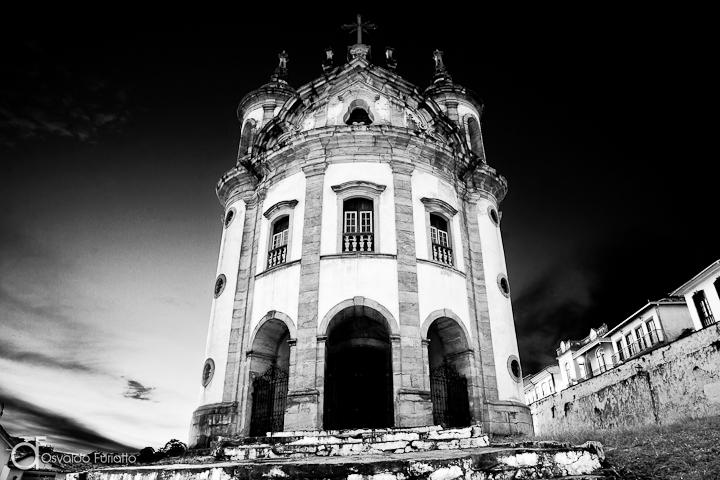 As 100 Sacras: Dia 48 - Igreja de Nossa Senhora do Rosário em Ouro Preto, Minas Gerais