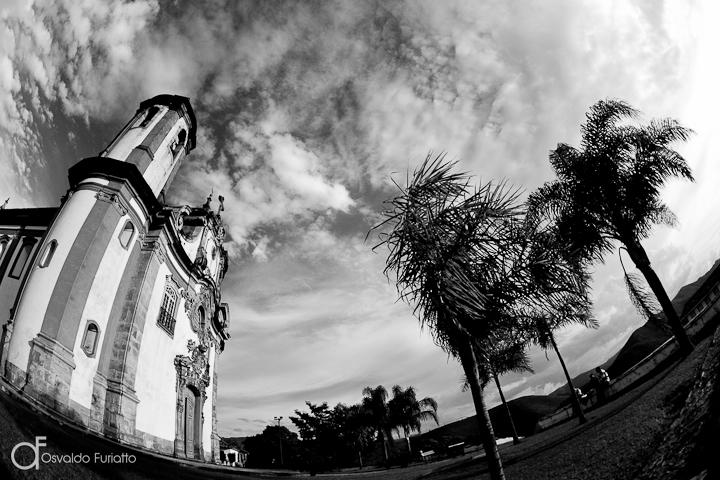 As 100 Sacras: Dia 54 - Igreja de Nossa Senhora do Carmo em Ouro Preto, Minas Gerais