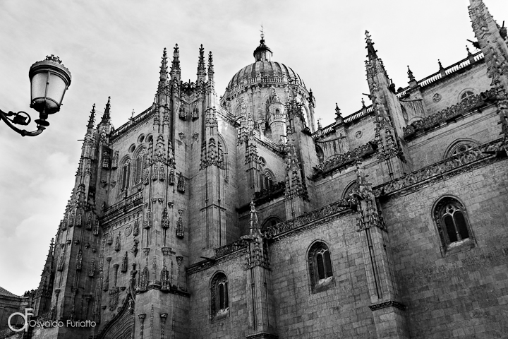 As 100 Sacras: Dia 63 - Catedral de Salamanca, Espanha