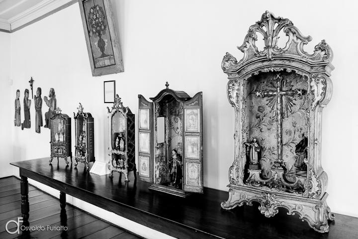 As 100 Sacras: Dia 70 - Acervo de oratórios do Museu do Diamante em Diamantina, Minas Gerais
