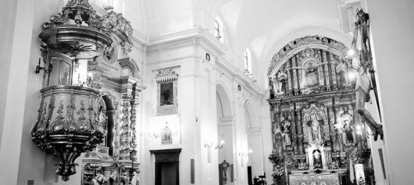 As 100 Sacras: Dia 73 - Interior da igreja de Nossa Senhora do Pilar em Buenos Aires, Argentina