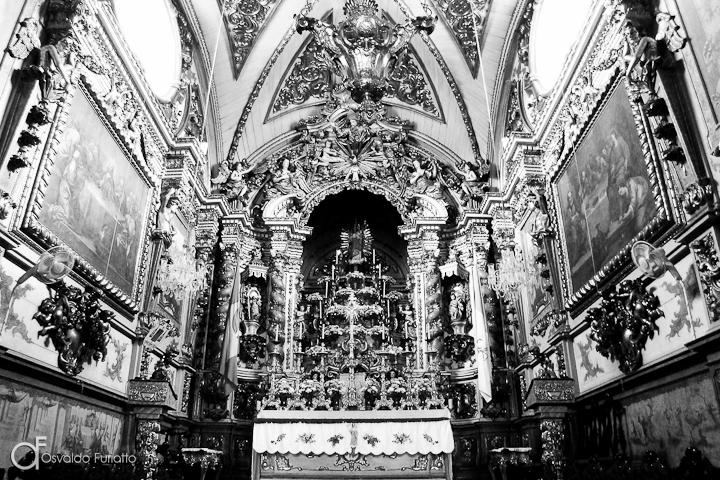 As 100 Sacras: Dia 84 - Altar da Basílica de Nossa Senhora do Pilar em São João del-Rei, Minas Gerais