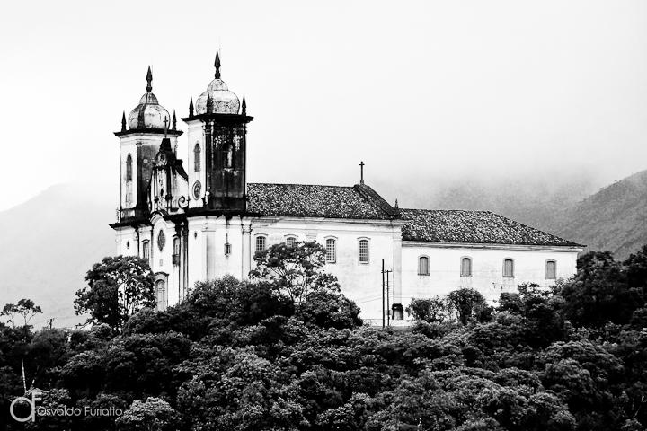 As 100 Sacras: Dia 85 - Igreja de São Francisco de Paula em Ouro Preto, Minas Gerais
