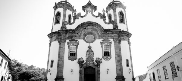As 100 Sacras: Dia 92 - Igreja de Nossa Senhora do Carmo em São João del-Rei, Minas Gerais