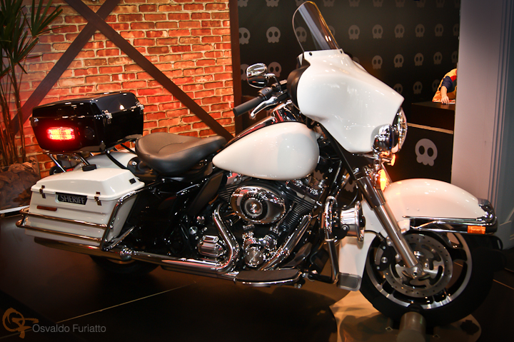 Harley-Davidson Road King Police #umamotopordia #osvaldofuriatto