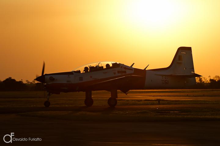 T-25 Universal da FAB na Base Aérea de Pirassununga, São Paulo
