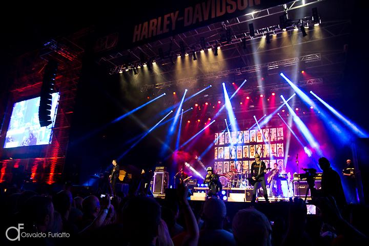 Show do Capital Inicial nos 110 anos da Harley-Davidson