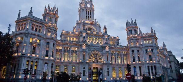 Palácio das Comunicações, Madri, Espanha