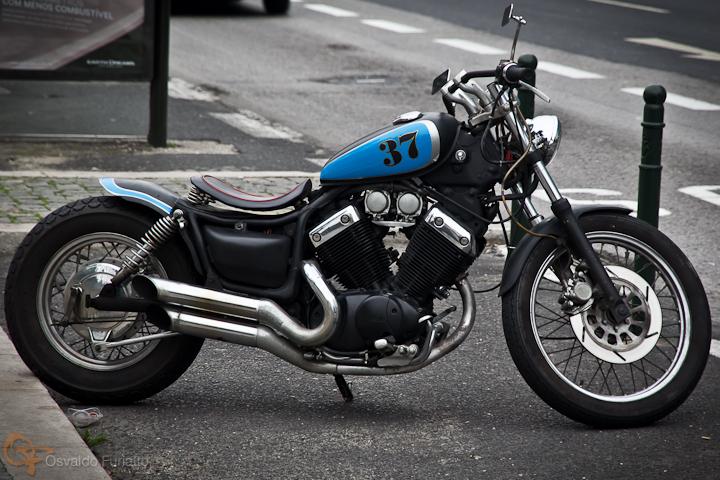 Yamaha Customizada #umamotopordia #osvaldofuriatto