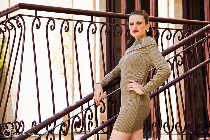 Editorial de moda e beleza