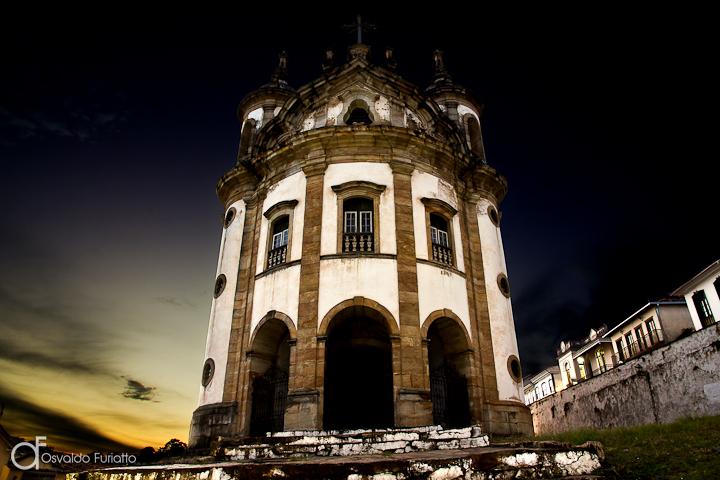 Igreja de Nossa Senhora do Rosário - Ouro Preto - MG
