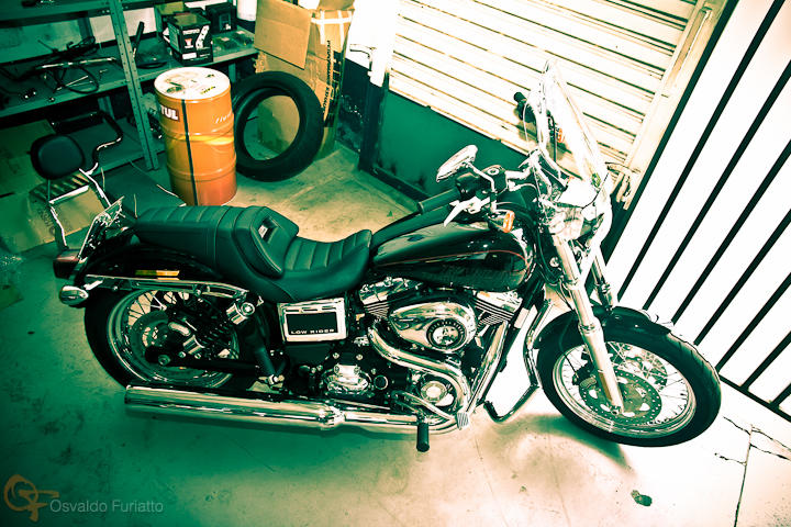 Harley-Davidson Dyna Low Rider #umamotopordia #osvaldofuriatto