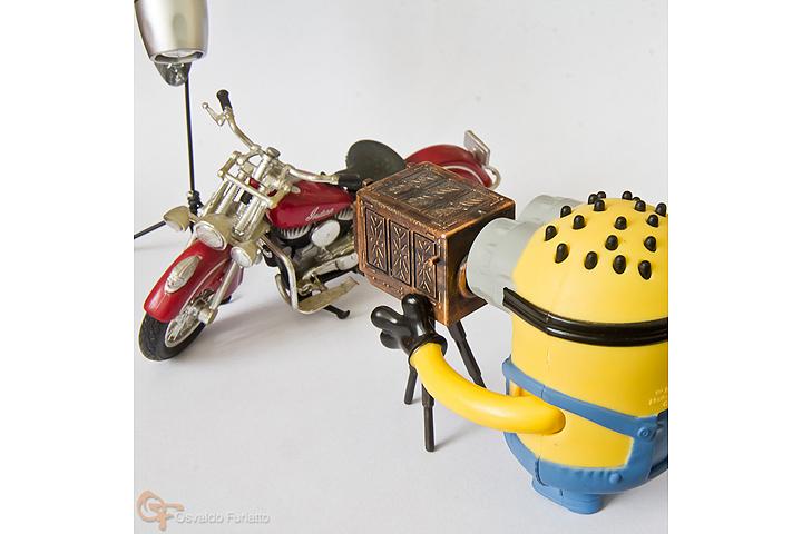 Minions em uma moto por dia: Dia 3