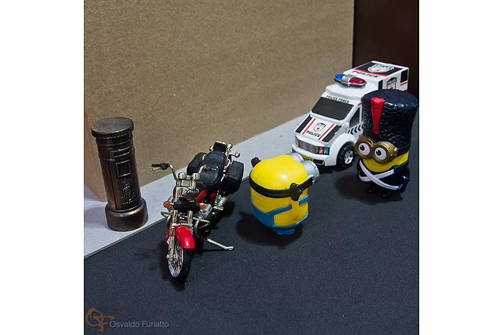 Minions em uma moto por dia: Dia 13