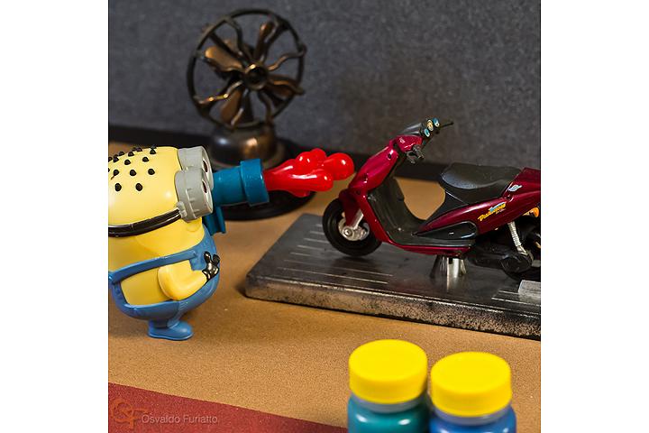 Minions em uma moto por dia: Dia 15