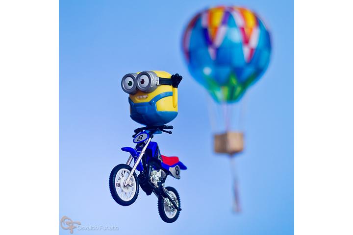 Minions em uma moto por dia: Dia 17