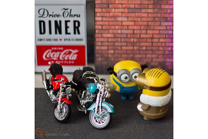 Minions em uma moto por dia: Dia 22