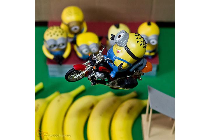 Minions em uma moto por dia: Dia 23