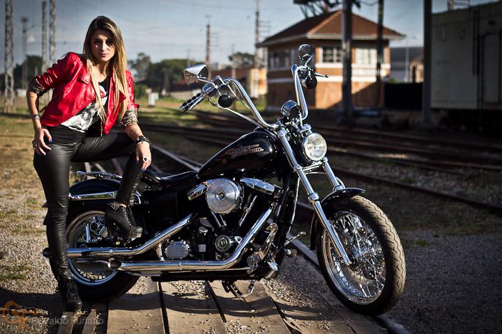 Harley-Davidson Dyna Super Glide by Garage Henn #umamotopordia #osvaldofuriatto