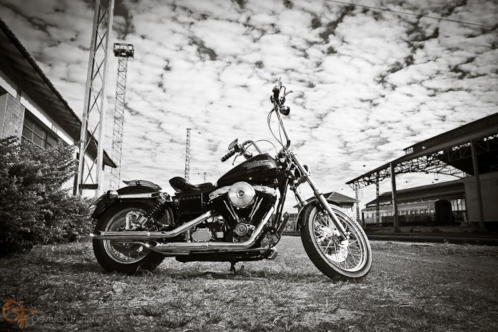 Harley-Davidson Dyna Super Glide #umamotopordia #osvaldofuriatto