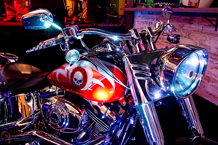 Harley-Davidson customizada