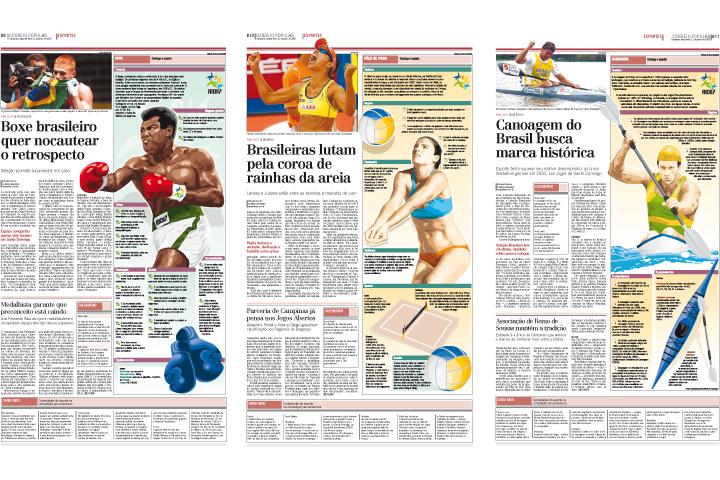 Infográficos Jogos Pan-Americanos Rio 2007